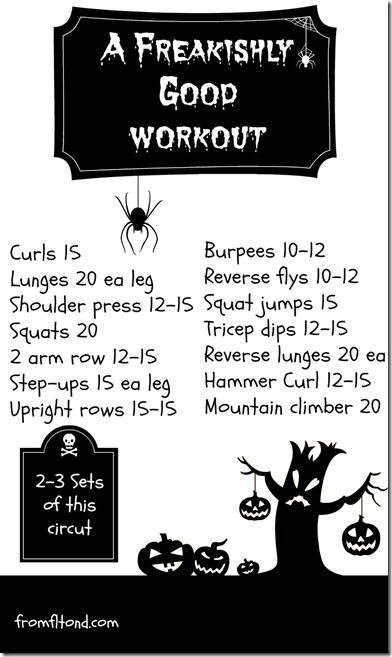 A Freakishly Good Workout
