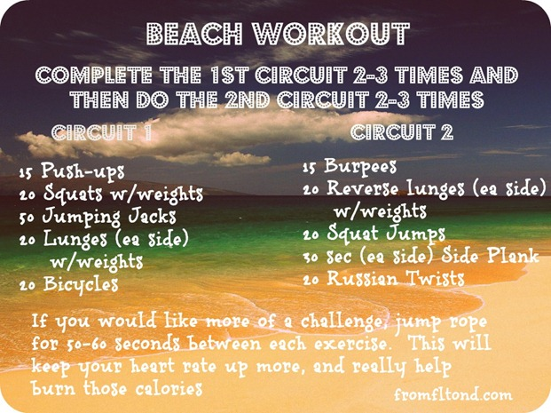 Beach Workout 2