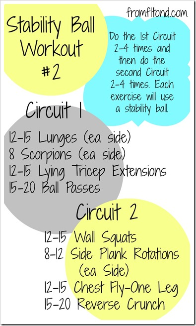 Stability Ball Workout 2