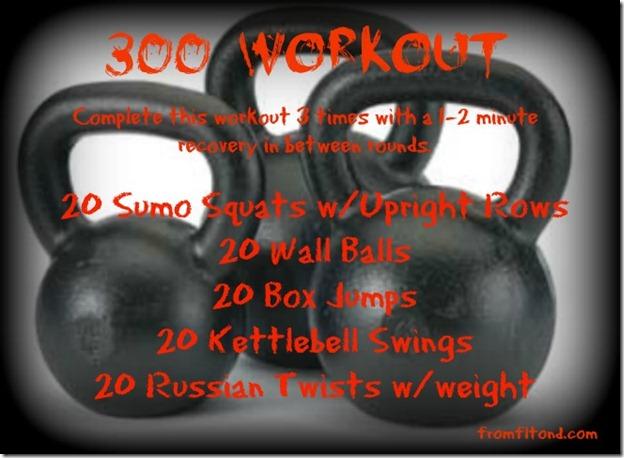 300 Workout #2