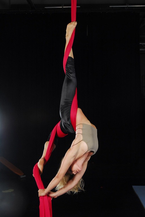 how to make aerial silks