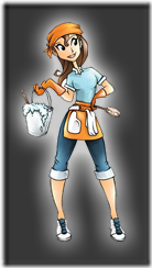 cleaning-girl-clean