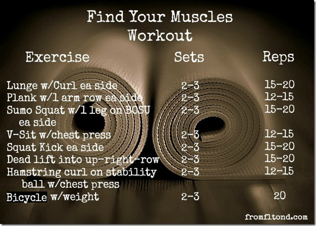 Find Your Muscles Workout