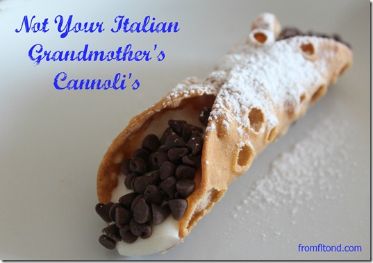 Not Your Italian Grandmother's Cannoli's