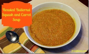 Roasted Butternut Squash and carrot Soup 2