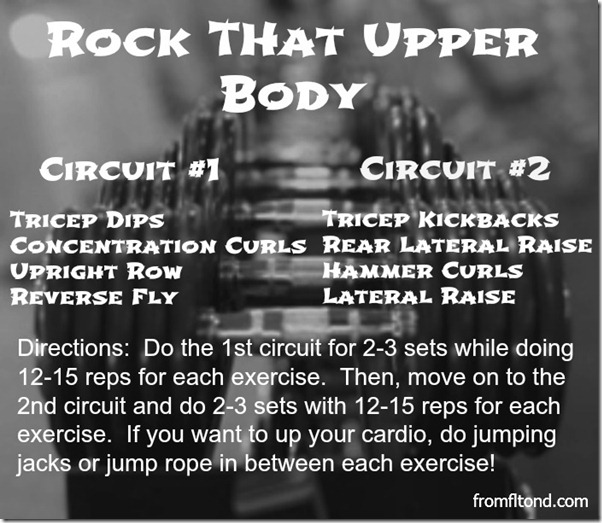 Rock That Upper Body