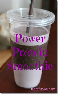 Power Protein Smoothie