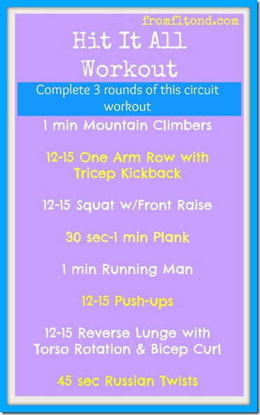 Hit it All Workout