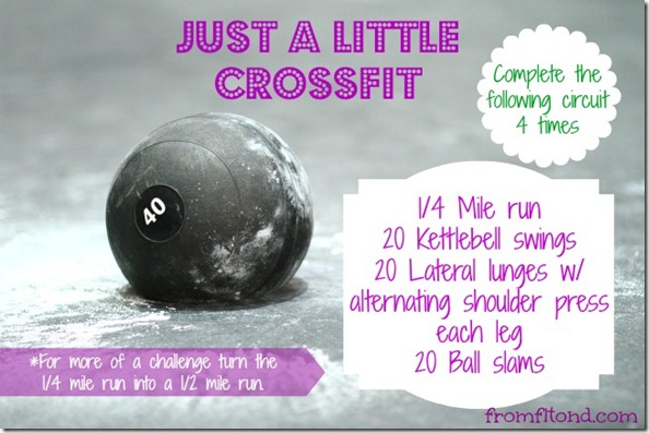 Just a Little Crossfit