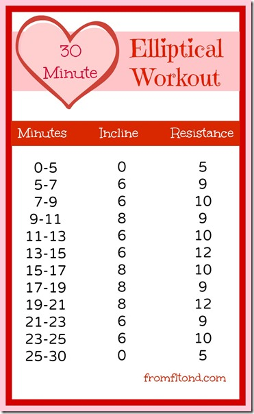 30 Minute Valentine Elliptical