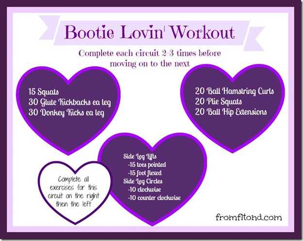 Bootie Lovin Workout 2