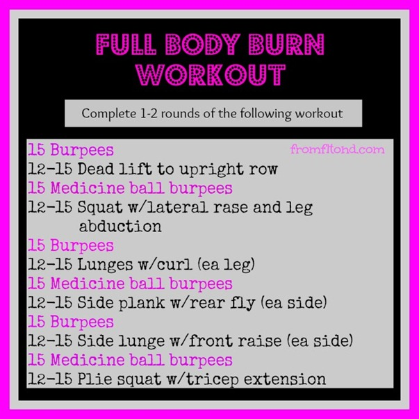 Full Body Burn Workout