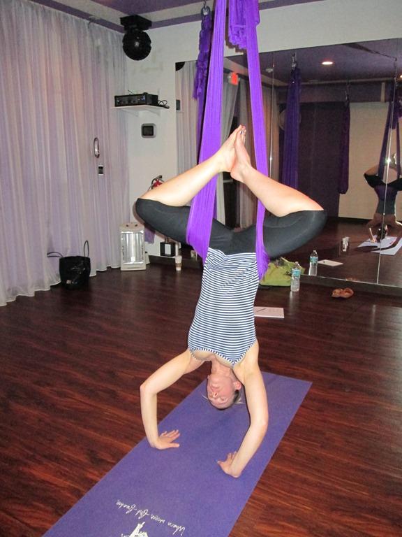 Aerial Yoga | From Florida to North Dakota