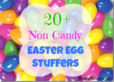 20  Non-Candy Easter Egg Stuffers