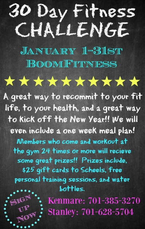 Boom 30 Day Challenge